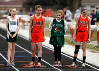 Fisher Scotties Track vs Saint Thomas, Campus Middle School, St. Malachy, and Gifford 04/10/14